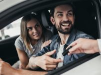 What are the advantages of renting a car?