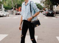 oversized shirt style